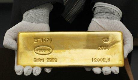 стандартный слиток золота
