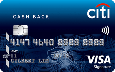 Cashback  Visa