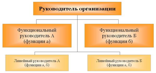 Линейно-функциональная структура управления