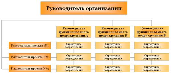 Матричная структура управления