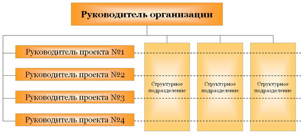 Проектная структура управления