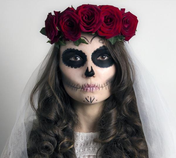 Аквагрим на Хэллоуин