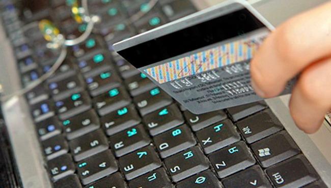 Проведение операций безналичной оплаты с использованием карточки в сети Интернет