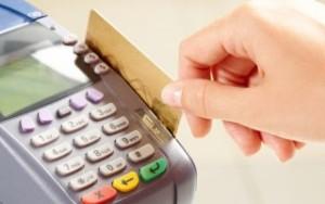 Проведение операций безналичной оплаты с использованием карточки в организациях торговли (сервиса)