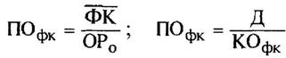 Формула расчета периода оборота привлеченного финансового (банковского) кредита в днях