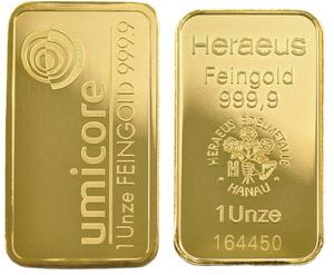 аффинажное золото